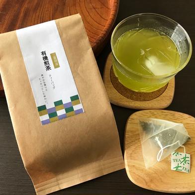 有機煎茶ティーバッグ2個セット 60g×2 お茶(緑茶) 通販