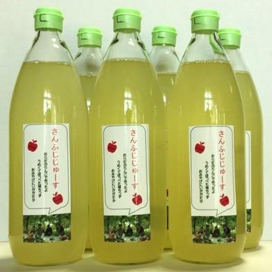 サンふじジュース1L6本入り 1L 飲料(ジュース) 通販