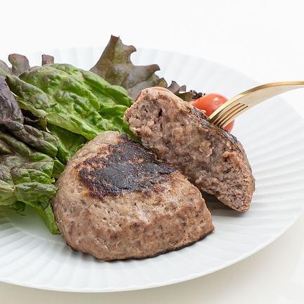 お試し 鳥益 牛肉100% ハンバーグ (焦げ目付)150g×3パックセット 1パック 150g OWLで地域の飲食店を盛り上げよう