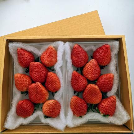 ✢ゴールドのギフトボックス✢ 群馬県産『やよいひめ』 300g×2パック 果物や野菜などのお取り寄せ宅配食材通販産地直送アウル