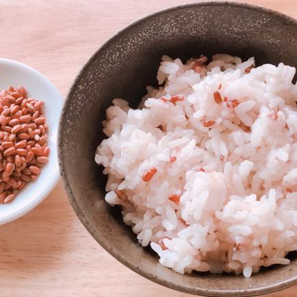 ショクラク 母の日送料無料!赤米、北海道産ななつぼしセット 300g