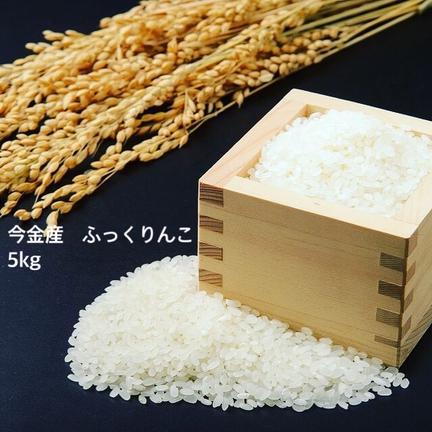 ショクラク 生産者限定/北海道今金産ふっくりんこ 5kg