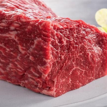 有限会社牛元 松阪牛ローストビーフ用肉塊400g モモ肉又はカタ肉400gブロック肉