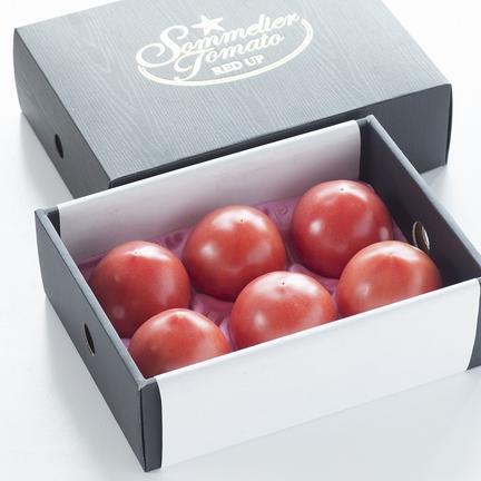 畑の宝石 ソムリエトマト 1.3kg(6玉から10玉) 1.3kg (トマトをのせるトレーの規格になります)