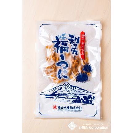 利尻島〜SHIEN〜【株式会社思縁】 利尻島産 むしうに【キタムラサキウニ】120g 120g