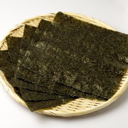 肥後の海苔や「サカモト」 有明海産高級焼き海苔「翠(みどり)」全形100枚入り 全形100枚