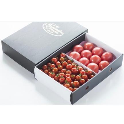 畑の宝石 ⑧ソムリエトマト 1.3kgとソムリエミニトマト プラチナとダイヤ各500gのセット トマト1.3kg プラチナ500g ダイヤ500g