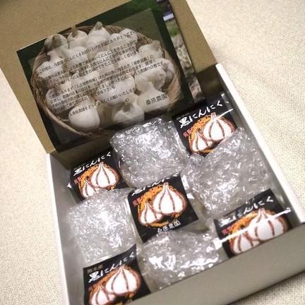 自然薯のくわはら 【送料込】毎日の健康維持に!熊本のにんにくを使った熟成黒にんにくL玉5袋(1日1、2粒でおよそ1ヶ月分目安) L玉1個入 x  5袋