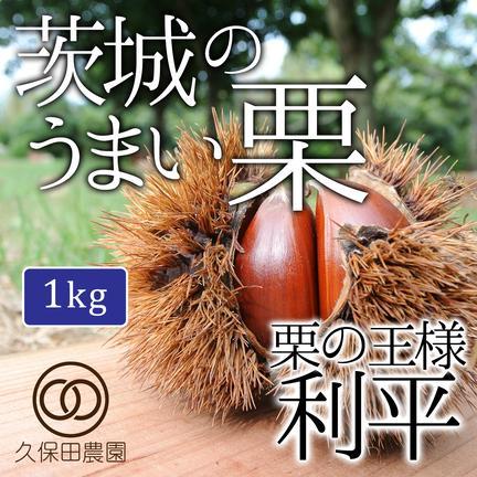 久保田農園 茨城のうまい栗(利平)約1kg(約35個) 約1Kg(約35個)