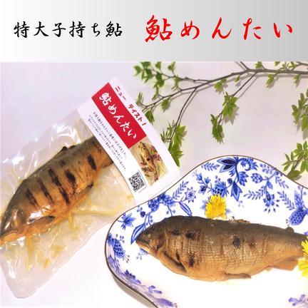 (有)美濃養魚場 特大子持ち鮎 鮎めんたいセット(4パック)送料無料 4パック