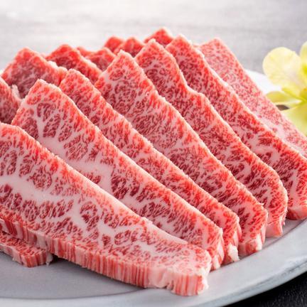 有限会社牛元 松阪牛焼き肉用400g カタモモバラ焼き肉用400g