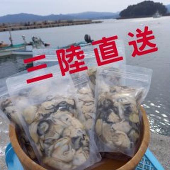 三陸直送!牡蠣剥き身生食用1㎏(3名様~5名様用) 1㎏ 果物や野菜などのお取り寄せ宅配食材通販産地直送アウル